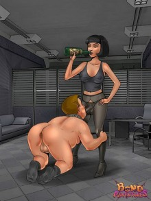 Original femdom bdsm comics