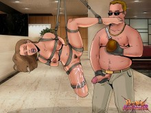 Hot fucking in bdsm comics - Bond Adventures Rope bondage