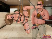 Hot fucking in bdsm comics - Bond Adventures Rope bondage