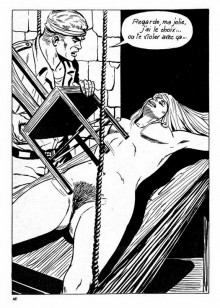 B/W bdsm art - BDSM Comics