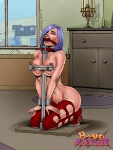 XXX adventures for Slavegirl - Bond Adventures Device bondage